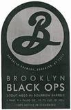 Brooklyn Black Ops 2012 beer