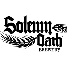 Solemn Oath White Van beer Label Full Size
