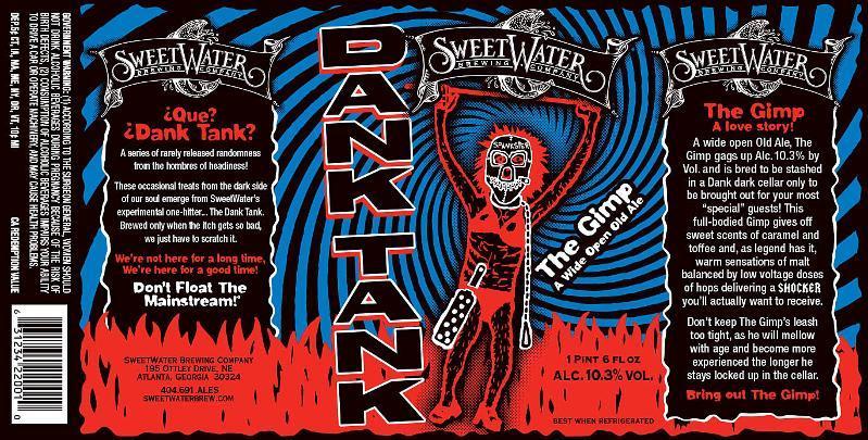 Photo of SweetWater Dank Tank The Gimp Beer Label