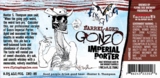 Flying Dog Barrel-Aged Gonzo Beer