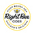 Mini right bee cider dry hopped 1