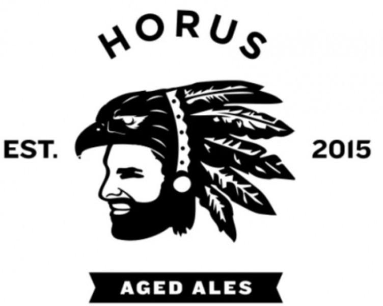 Horus Osprey's Fresh Catch beer Label Full Size