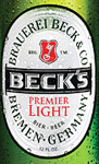 Beck's Light beer Label Full Size