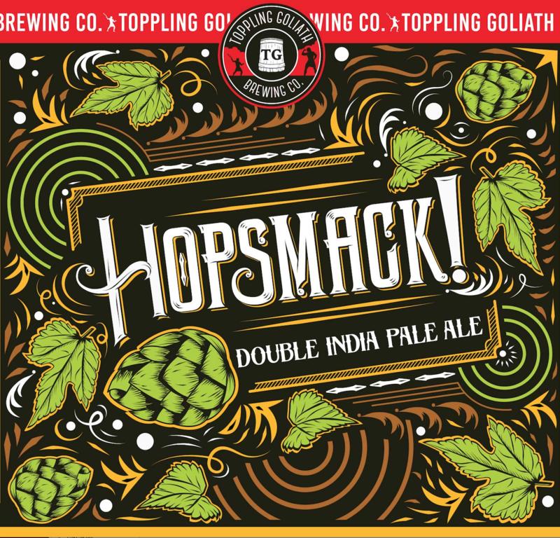 Toppling Goliath Hopsmack! beer Label Full Size