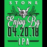 Stone Enjoy By 04.20.18 IPA Beer