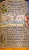 Professor Fritz Briem 13th Century Grut Bier beer