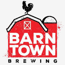Barn Town Neon DDH NEIPA beer Label Full Size
