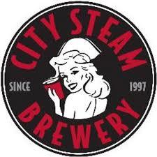 City Steam Starlit beer Label Full Size