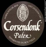 Corsendonk Pater Dubbel beer
