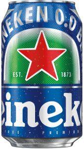 Heineken 0.0 beer Label Full Size