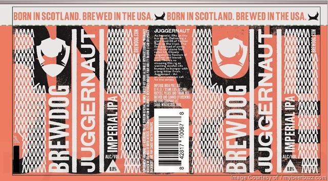 BrewDog Juggernaut Beer