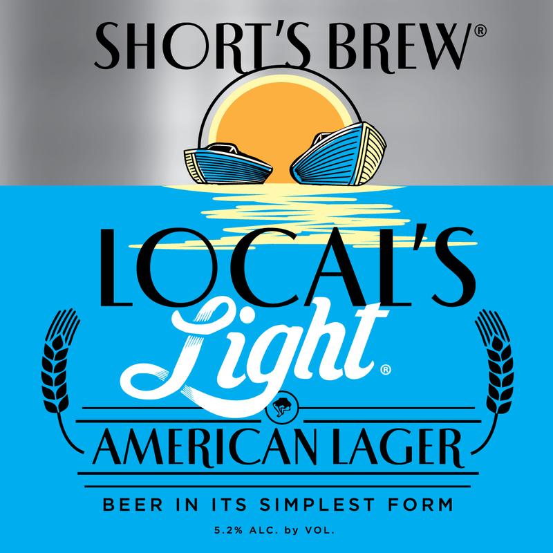 Short's Local's Light beer Label Full Size