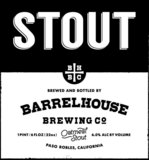 BarrelHouse Oatmeal Stout NITRO beer