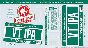 Long Trail Vermont IPA beer Label Full Size