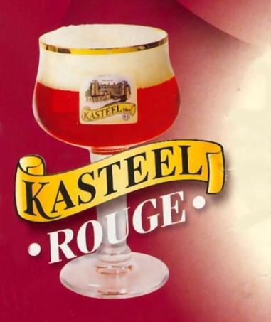 Kasteel Kriek beer Label Full Size