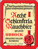 Aecht Schlenkerla Rauchbier Urbock beer