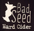 Mini bad seed four roses barrel aged cider 1