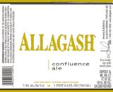 Allagash Confluence 2012 beer