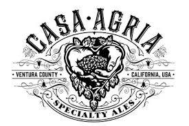 Casa Agria Buck beer Label Full Size