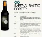 Pohjala Oo imperial Baltic Porter beer