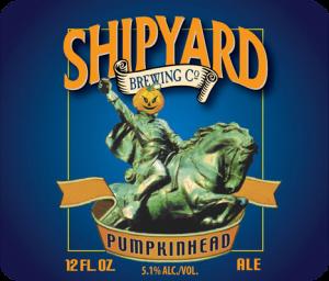 Shipyard Pumpkinhead Ale beer Label Full Size