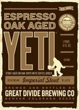 Great Divide Espresso Oak Aged Yeti Imperial Stout 2010 beer