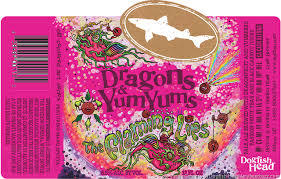 Dogfish Head Dragons and Yum Yums Beer