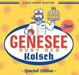 Genesee Ruby Red Kolsch beer