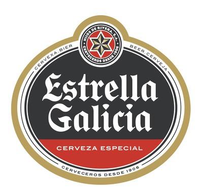Estrella Galicia beer Label Full Size