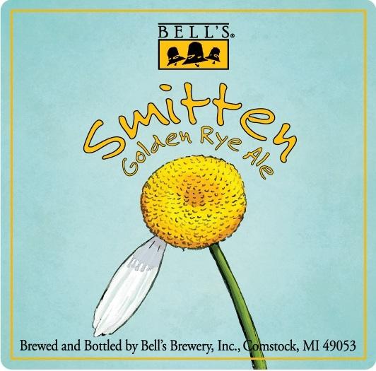 Bell's Smitten Golden Rye Ale beer Label Full Size