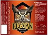 Elysian Night Owl Pumpkin Ale Beer