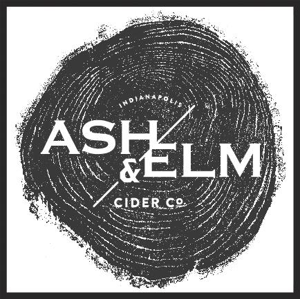 Ash & Elm Dry beer Label Full Size
