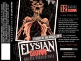 Elysian Doom Golden Treacle Ale beer