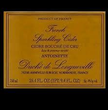 Duche De Longueville Antoinette Normandy Cider beer Label Full Size