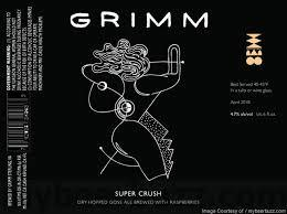 Grimm Super Crush Beer