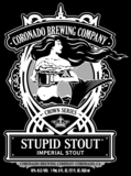 Coronado Stupid Stout beer