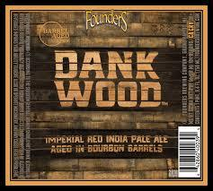 Founders Dankwood beer Label Full Size