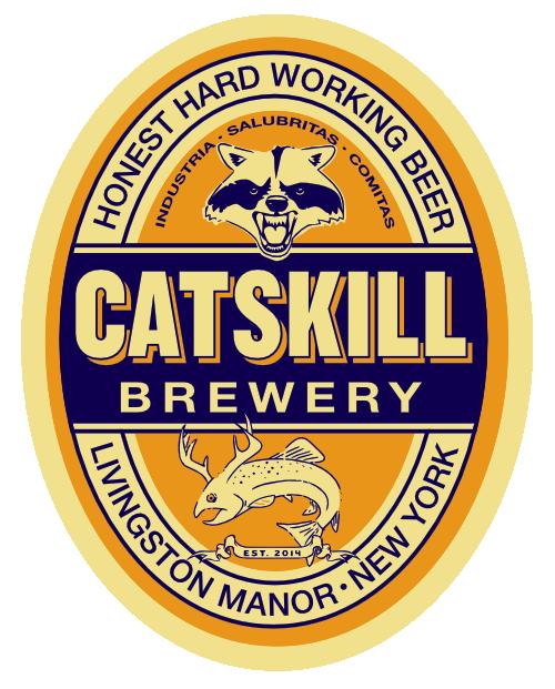 Catskill Rat-Faced Mcdougall beer Label Full Size