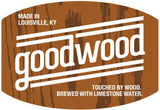 Goodwood Bourbon Barrel Nut Brown beer