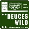 Big Boss Deuces Wild beer Label Full Size