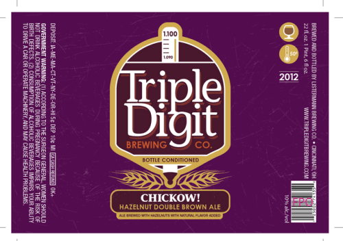 Triple Digit Chickow Beer
