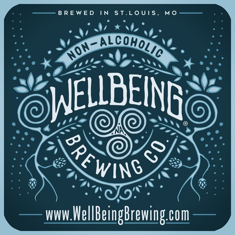 WellBeing Hellraiser Dark Amber beer Label Full Size