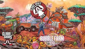 Clown Shoes Bubble Farm IPA beer Label Full Size