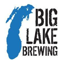 Big Lake Barrel Aged Dark Star Stout beer Label Full Size