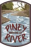 Piney River Missouri Waltz Raspberry Sour beer