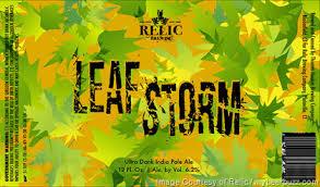 Relic Leaf Storm IPA Beer