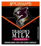 New Holland Dragon's Milk Reserve Bourbon Barrel Stout With Cherry Chocolate Beer