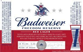 Budweiser Freedom Reserve Beer