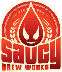 Saucy Love You, Bye beer Label Full Size