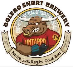 Bolero Snort 20th+Bull Stout beer Label Full Size